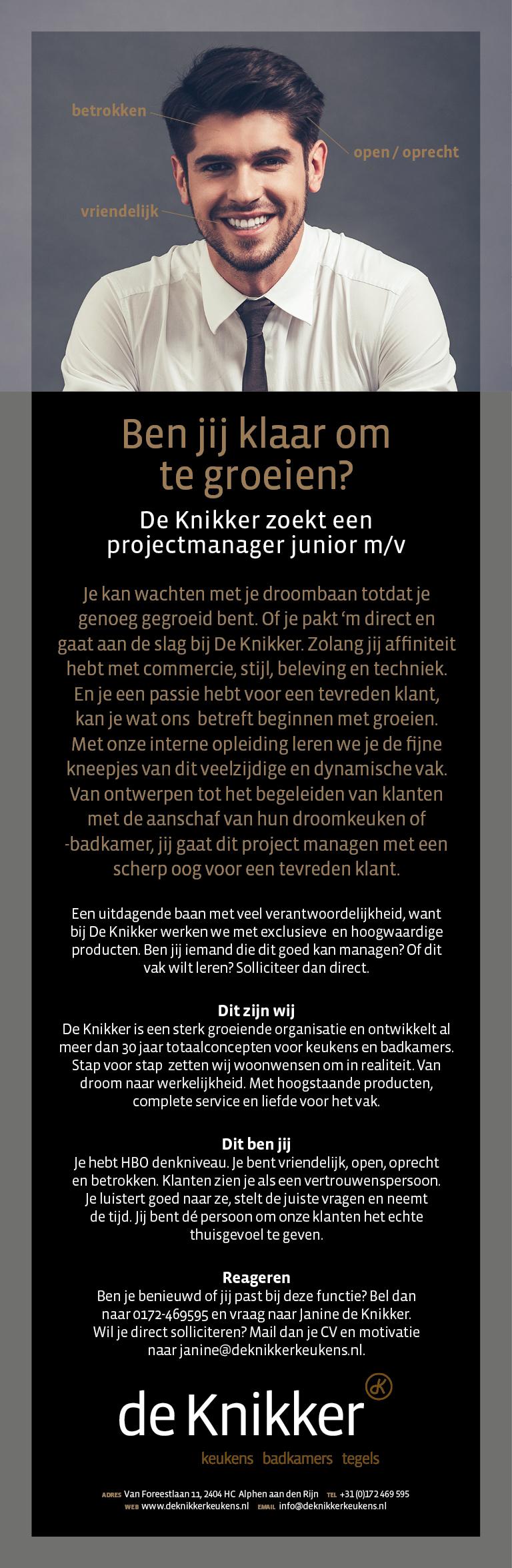 Projectmanager Junior